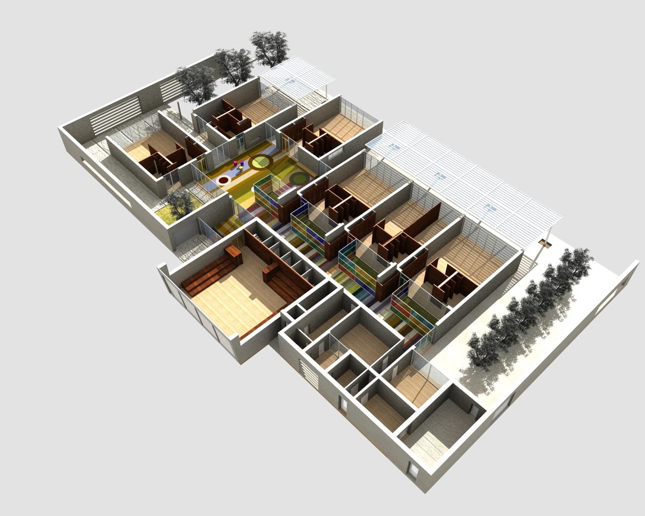 Super Scuola Materna Galcetello – architettare.it FC21