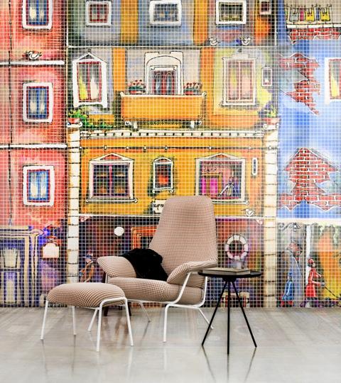 Mosaico in resina