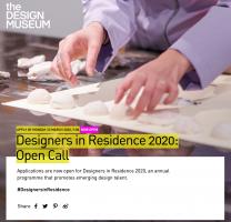Designers in Residence 2020